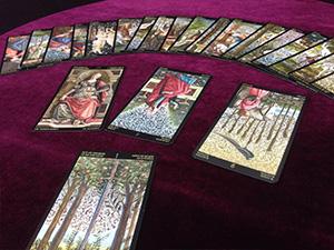 大阪京橋、福島の占い「占いサロン観音庵」のタロットカード