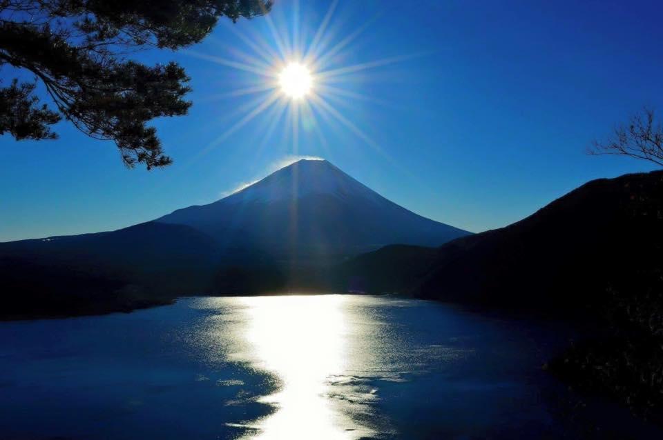 富士の初日の出