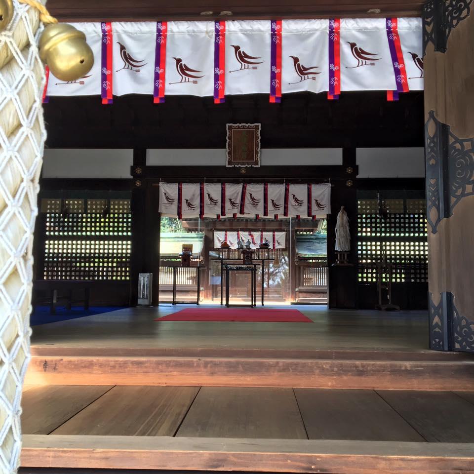 大阪京橋、福島の占いサロン観音庵 弓弦羽神社