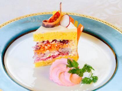 ベジデコサラダ ケーキ