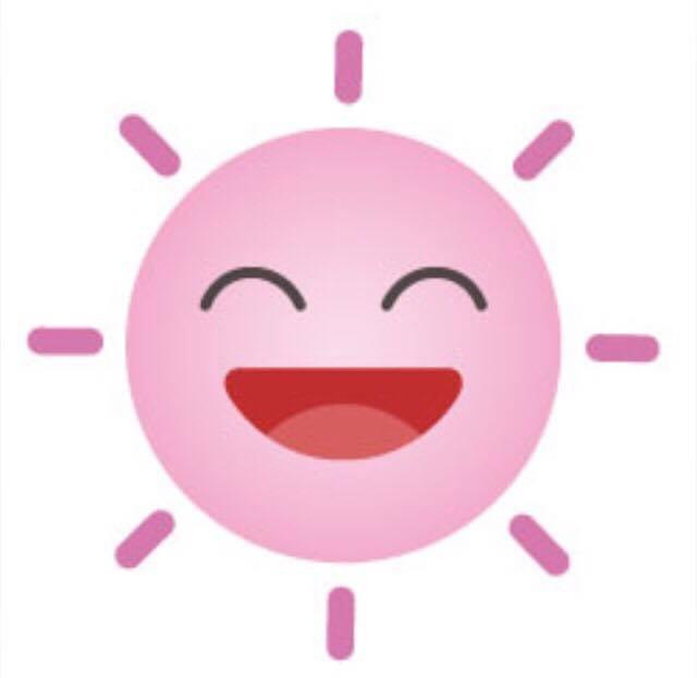お日様笑顔