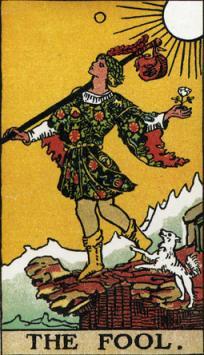 愚者のカード