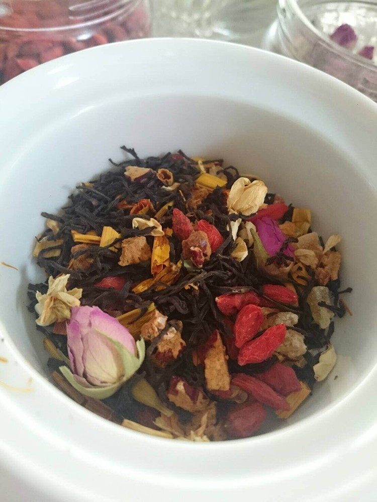 占いサロン観音庵の薬膳茶