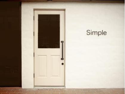 シンプルな生活